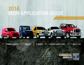 2016 Ford Body Application Guide