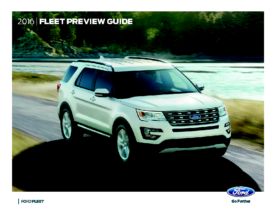 2016 Ford Fleet Preview Guide