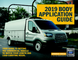 2019 Ford Body Application Guide