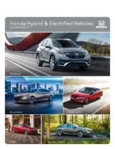 2021 Honda Hybrid Electrified Vehicles