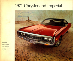 1971 Chrysler and Imperial – CN