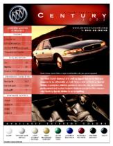 2002 Buick Century Spec Sheet