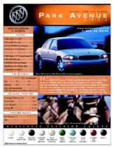 2002 Buick Park Avenue Spec Sheet