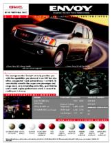 2002 GMC Envoy Spec Sheet