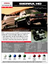 2002 GMC Sierra HD Spec Sheet