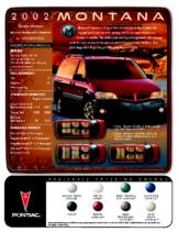 2002 Pontiac Montana Spec Sheet