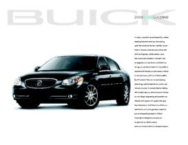 2006 Buick Lucerne Spec Sheet