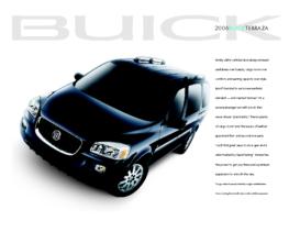 2006 Buick Terraza Spec Sheet