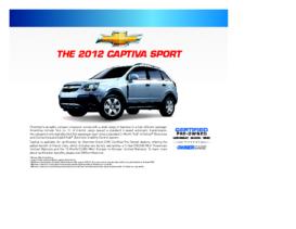 2012 Chevrolet Captiva Spec Sheet