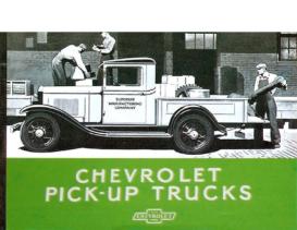 1932 Chevrolet Pickups