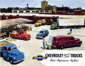 1952 Chevrolet Trucks