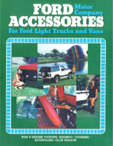 1980 Ford Light Truck Accessories