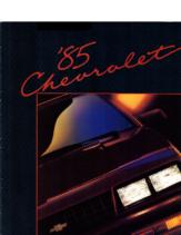 1985 Chevrolet Full Line