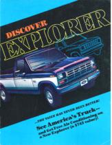 1985 Ford Discover Explorer Mailer