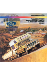 1986 Ford RV & Trailer Towing Guide