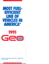 1991 Geo Foldout