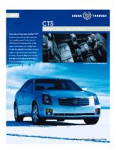 2003 Cadillac CTS Spec Sheet