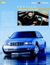 2003 Cadillac Seville Spec Sheet