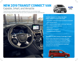 2019 Ford Transit Connect Intro