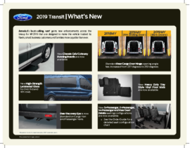 2019 Ford Transit – What's New