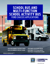 2020 Ford School Bus Chassis Applications