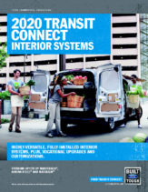 2020 Ford Transit Connect Interior Systems