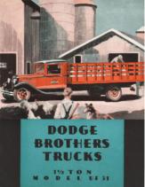 1931 Dodge Brothers Model UF21 Truck