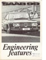 1969 Saab 99 Engineering Features