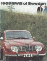1969 Saab Full Line