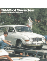 1969 Saab Station Wagon