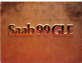 1975 Saab 99 GLE