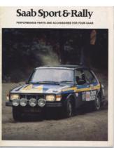1978 Saab Rally Catalog