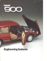 1985 Saab 900 Engineering Features
