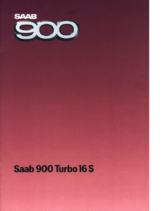1985 Saab 900 Turbo