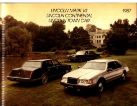 1987 Lincoln Full Line CN
