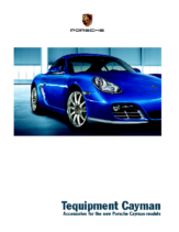 2011 Porsche Cayman Accessories