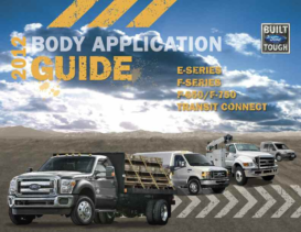 2012 Ford Body Application Guide