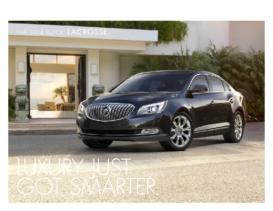 2014 Buick LaCrosse Reveal