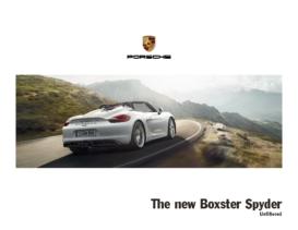 2015 Porsche Boxster Spyder V1