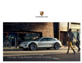 2018 Porsche Mission E Cross Turismo Concept