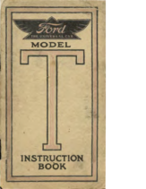 1913 Ford Model T Instruction Book (May)