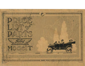 1913 Ford Model T Parts List (Jan) Type 2