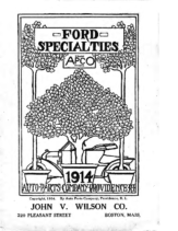 1914 Ford APCO Ford Specialties