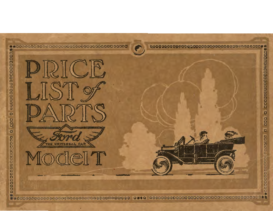 1914 Ford Model T Parts List CN