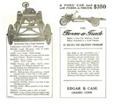 1915 Ford Fomr A Body