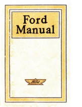 1915 Ford Owners Manual
