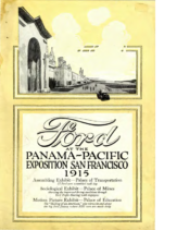 1915 Ford Panama Pacific Expo