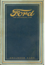 1916 Ford Enclosed Cars
