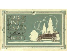 1916 Ford Parts List (Feb)