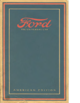 1916 Ford The Universal Car